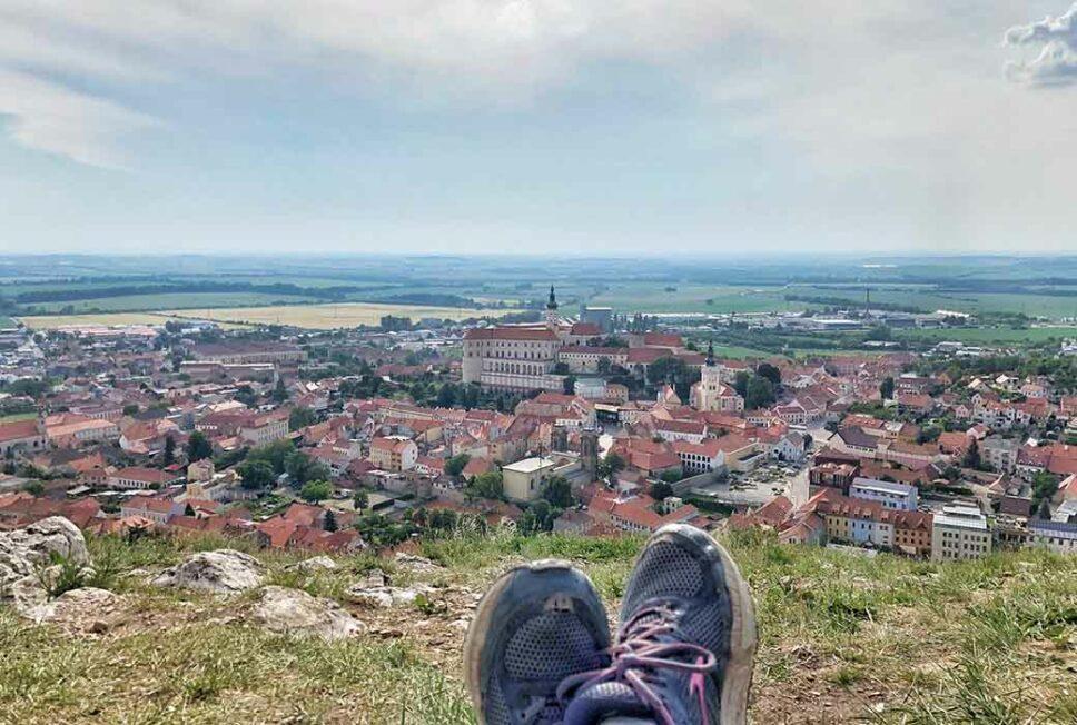 beklimmen van de Holy Hill in Mikulov - Tekstenwereld